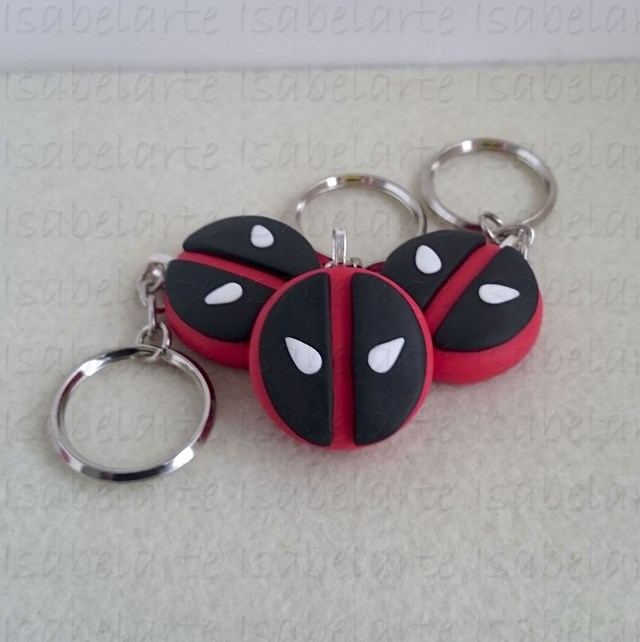 Key chain inspired DeadPool